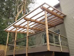 deck roof ideas. Transparent Roof For Deck Ideas C