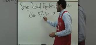 how to solve radical equations easily