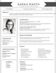 Best Resume Template 100 Most Professional Editable Resume Templates for Jobseekers 16