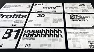 Modern Typographic Resume Set Getting More From The Grid Creative Bloq