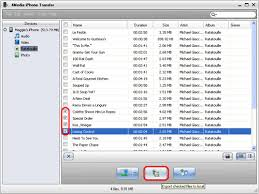 How to transfer music from iPhone to puter