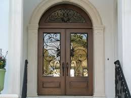 elegant front entry doors. Elegant Mahogany And Glass Arch Double Front Door Home Design Entry Doors R