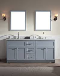 gray double sink vanity. ariel hamlet 73\ gray double sink vanity d