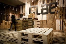 wood pallets design, pallets store, pallets shop, pallets interior design