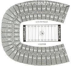 Louisville Seating Chart Football Louisville Cardinals 2007 Football Schedule