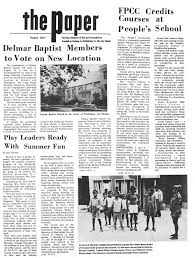 The Paper August 1971