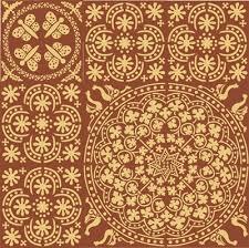 Medieval Patterns Beauteous Medieval Flower Pattern Medieval Stencil Design From Stencil Kingdom