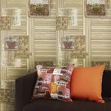 get quotations slavyanski vinyl double roll wallcovering wallpaper wall decor coverings textured wood wicker bamboo pattern patterned