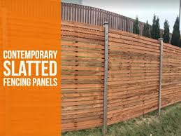 fence panels. Unique Panels Contemporary Slatted Fencing Panels Throughout Fence N