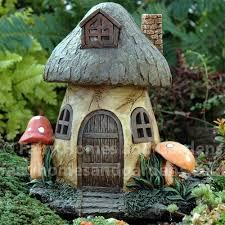 fairy homes and gardens. Unique Fairy Solar Mushroom Fairy House With Homes And Gardens M