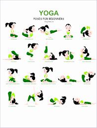 22 Rigorous Free Yoga Poses Chart