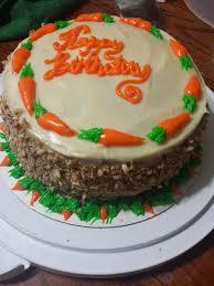 Sweet Addictions Carrot Cake 48th Birthday