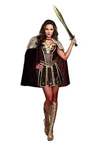 amazon warrior cosplay. Wonderful Cosplay Dreamgirl Womenu0027s Victorious Beauty Warrior Costume Brown Small With Amazon Cosplay