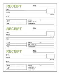 sample receipt book rent receipt book templates samples