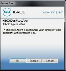 Article Dell Kace And Sonicwall Ssl Vpn Integration Itninja