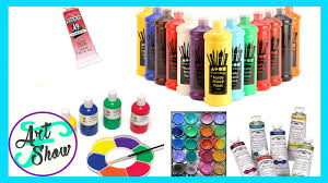 Image Ingredients Different Types Of Paints For Beginners Fatemas Art Show Youtube Different Types Of Paints For Beginners Fatemas Art Show Youtube
