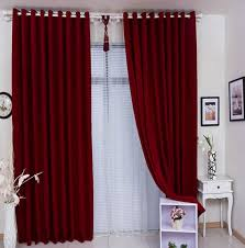 Attractive Red Curtain Ideas For Living Room Designs with Flirty Red Living  Room Curtains Ideas Abpho