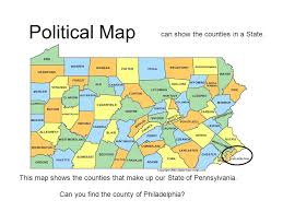kinds of maps ppt download What Do Political Maps Show political map can show the counties in a state what do political maps show us