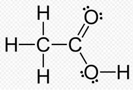 ch3co2h what is the lewis dot structure of ch3cooh acetic acid
