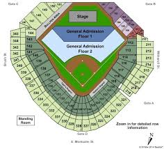 Metallica Comerica Park Seating Chart Comerica Park Seating Chart Awesome Comerica Park Seat Map