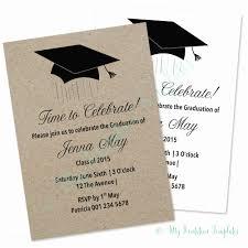 Sample Graduation Party Invitation Graduation Invitation Template