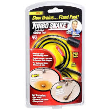 Turbo Snake Drain Clog Remover 2 Pack As Seen On Tv Hot 10