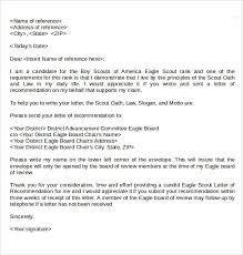 Eagle Scout Letter Of Recommendation Sample From Parents Elemental