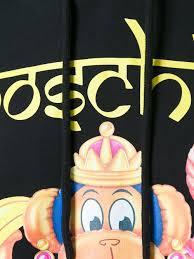 Moschino Backpack Moschino Monkey Print Hoodie Women