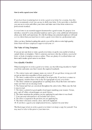 Cozy Design Successful Cover Letter 6 Example For Hospitality