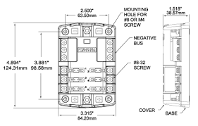 blue sea systems 5026 st blade fuse block waytek wire Dual Battery Wiring Diagram at Blue Sea Systems Wiring Diagrams