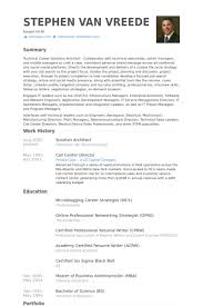 Architect Resume Samples Delectable Enterprise Architect Resume Samples Kenicandlecomfortzone