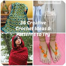 pattern idea 36 creative crochet ideas patterns to try