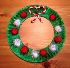Easy Craft For Kids Paper Plate Christmas Wreath  Play  CBC ParentsChristmas Paper Plate Crafts