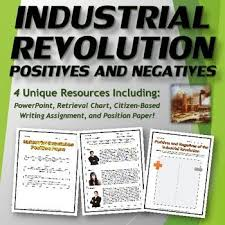 best industrial revolution teaching resources images on industrial revolution positives and negatives bundle ppt and handouts
