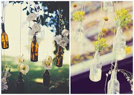 pretty little bottles wedding decor ideas
