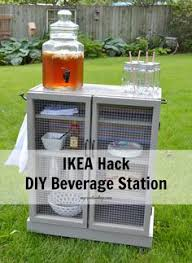 do you like entertaining outside during the summer months check out this ikea hack check beautiful diy ikea