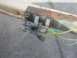 ma trailer camping project page toyota fj cruiser forum this wiring is just temporary i plan on getting the correct connectors