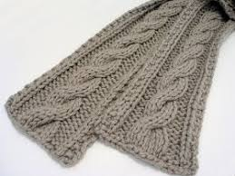 Cable Knit Scarf Pattern Gorgeous Guys Easy Cable Knit Scarf Pattern Maybe When I Get More Experience