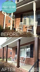 exterior columns on homes. diy_porch_column_makeover   landscape ideas and front porches pinterest diy porch, porch columns exterior on homes