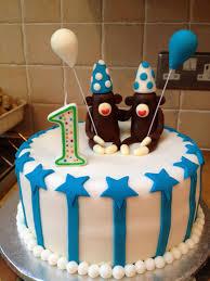 My Homemade Twin Boys 1st Birthday Cake Birthday In 2019 Boys