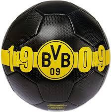 Borussia dortmund westfalenstadion dortmund bvb. Borussia Dortmund Bvb Ball 1909 Schwarz Exklusive Kollektion Amazon De Sport Freizeit