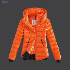 uk women s 2016 moncler winter jackets zip stand collar orange moncler s ygcsr l