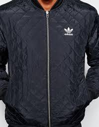 Lyst - Adidas originals Quilted Jacket Ab7862 in Black for Men & Gallery Adamdwight.com