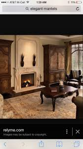 Elegant Fireplace Mantel as Luxurious Focal Point: Elegant High Molding  Fireplace Mantels & Over Mantels Style With Artistic Frame Detail To.