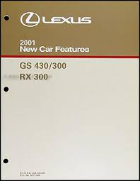 2001 lexus gs 300 gs 430 wiring diagram manual original related items