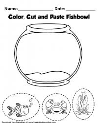 A printable book with color words and crayons to cut out, match, and paste. Color Cut And Paste Activity Worksheet For Kids