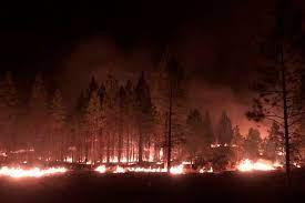 Massive, erratic Oregon wildfire ...