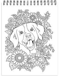 dog coloring book for s with hardback covers and spiral binding color coloring book dogs