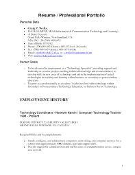 Gallery Of Resume Portfolio