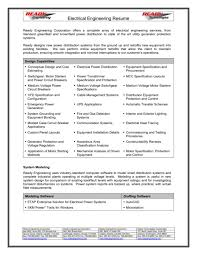 template electrical resumes samples industrial electrician resume sample